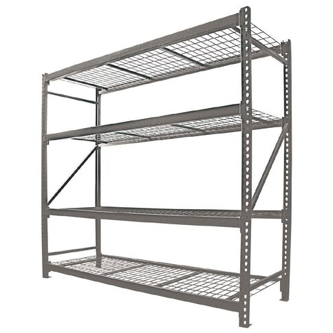 Work Tuff 4 Tier Industrial Shelving