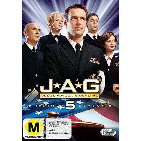 Jag Season 5 DVD 6Disc
