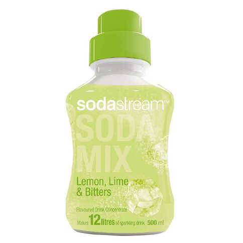 Sodastream Syrup Lemon Lime Bitters 500ml
