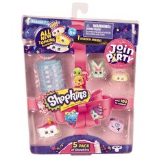 Shopkins Series 7 5 Pack Assorted