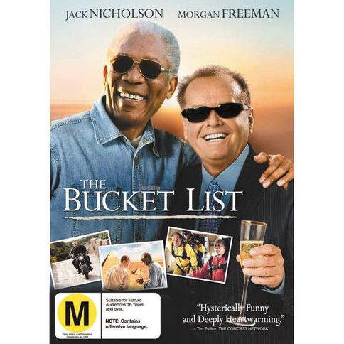 The Bucket List DVD 1Disc