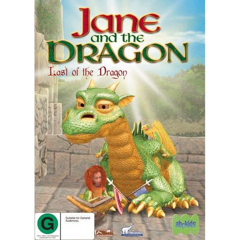 Jane and The Dragon Last of the Dragon DVD 1Disc