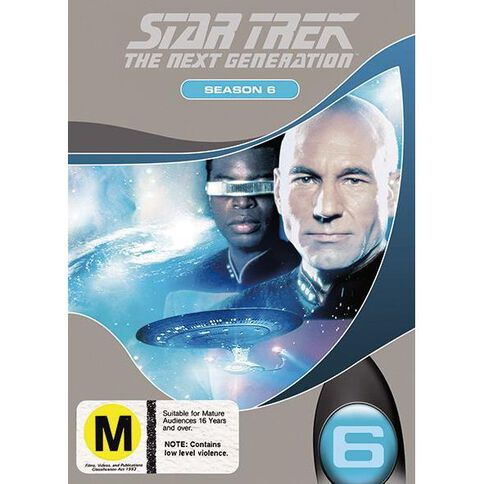 Star Trek Next Generation Season 6 DVD 1Disc