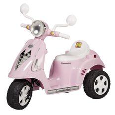 Ride On Commuter Vespa 6 Volt Pink