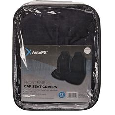 Auto FX Car Seat Cover High Back Bucket Suede Front Pair