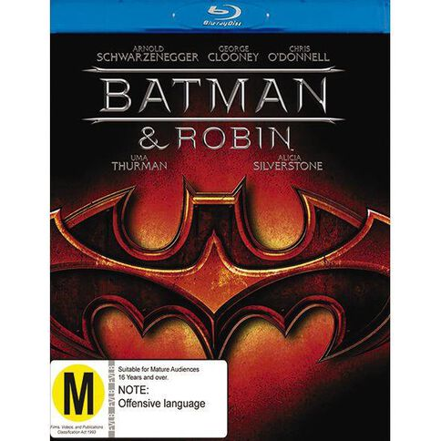 Batman And Robin Blu-ray 1Disc