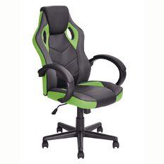 Linton Racer Chair Black/Green