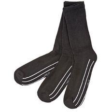 Active Intent Men's Sports Crew Socks 3 Pack