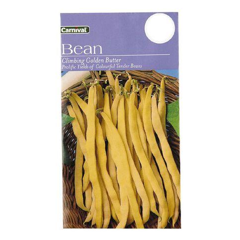 Carnival Seeds Climbing Beans Gold