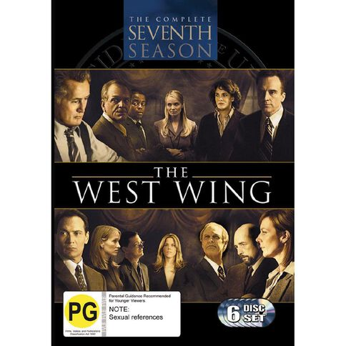 The West Wing Season 7 DVD 6Disc