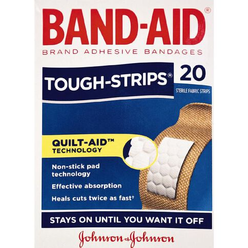 Band Aid Tough Strip Regular 20s