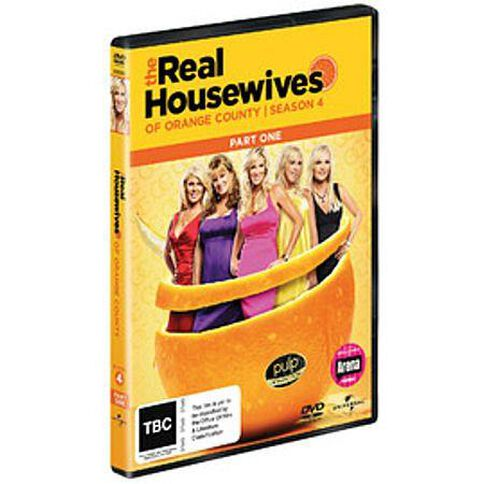 Real Housewives Of The Orange County Season 4 Part 1 2DVD