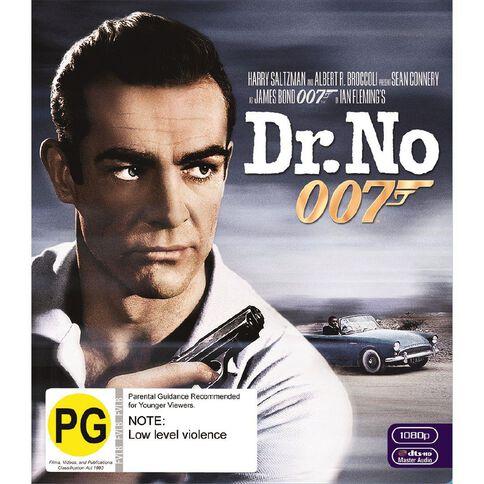 Dr No 2012 Version Blu-ray 1Disc