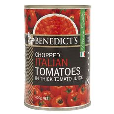 Benedict's Chopped Italian Tomatoes 400g