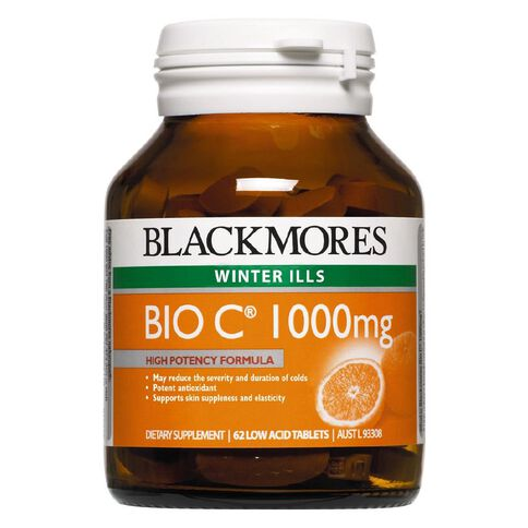 Blackmores Bio C 1000mg 62s