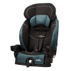 Evenflo Chase LX Harnessed Booster Car Seat Jubilee