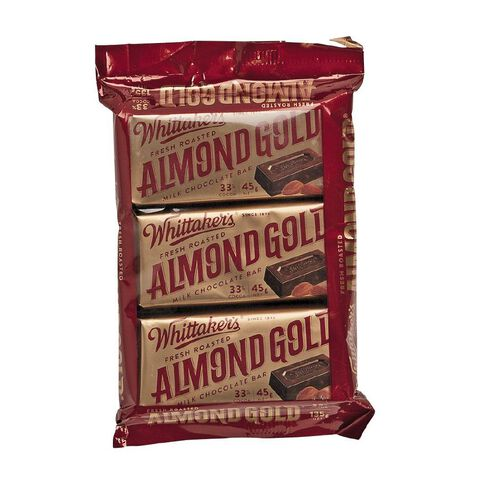 Whittaker's Almond Gold 3 Pack