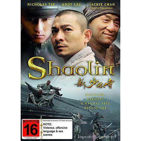 Shaolin DVD 1Disc