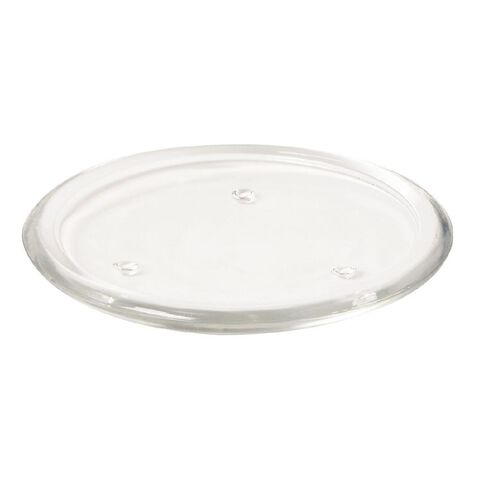 Necessities Brand Round Glass Candle Plate