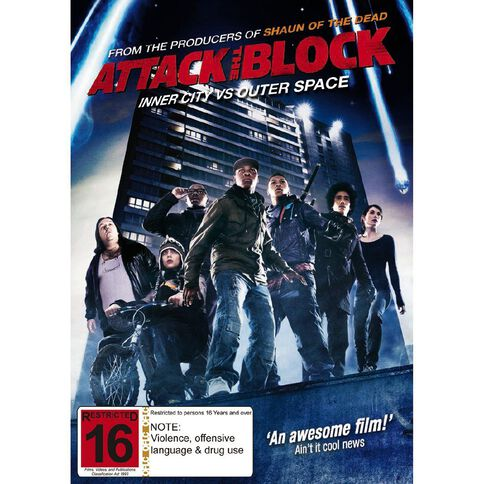 Attack the Block DVD 1Disc