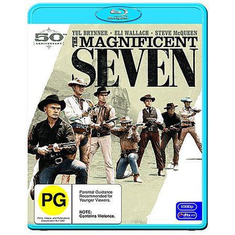 Magnificent Seven 1 Blu-ray Disc