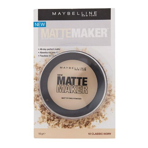 Maybelline Matte Maker Powder Classic Ivory