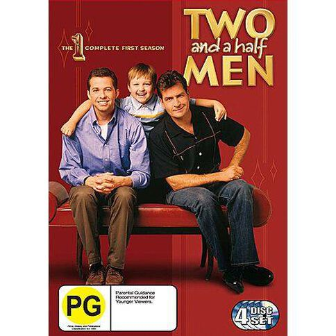 Two And A Half Men Season 1 DVD 4Disc