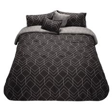 Living & Co Comforter Set Dusky Geo