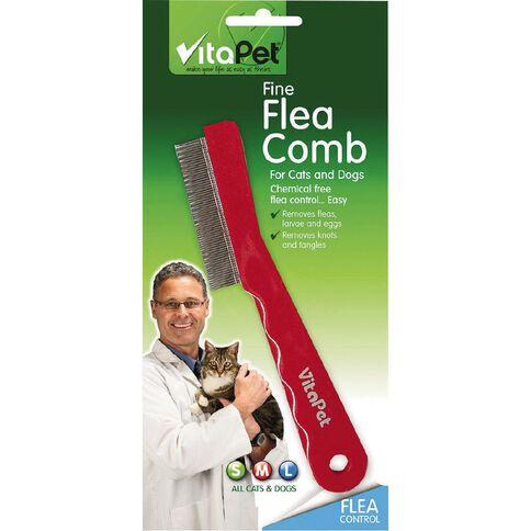 Vitapet Flea Comb Fine Tooth