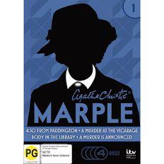 Agatha Christies Miss Marple Series 1 DVD 4Disc