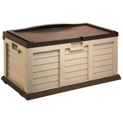Starplast Sit On Garden Storage Box Medium