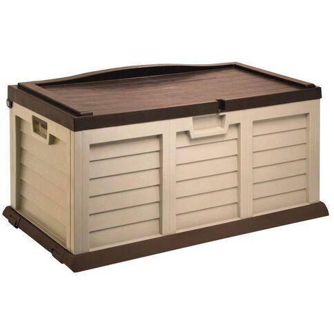 Starplast Sit On Garden Storage Box Medium