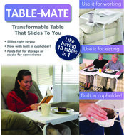 As Seen On TV Table Mate White