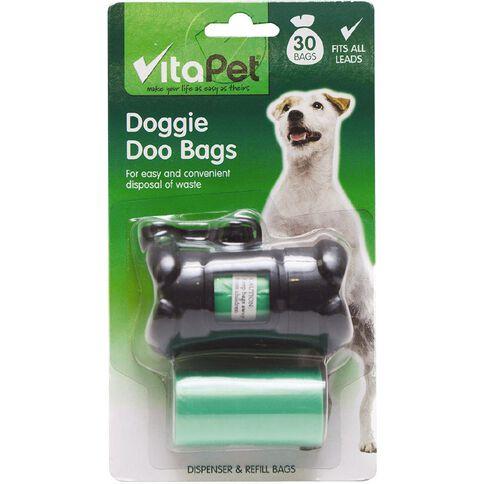 Vitapet Doggie Doo Dispenser & Refill 30 Pack