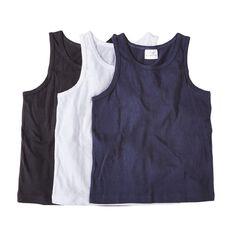 Basics Brand Boys' Singlets 3 Pack