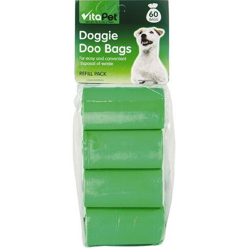 Vitapet Doggie Doo Refill Bags 60 Pack