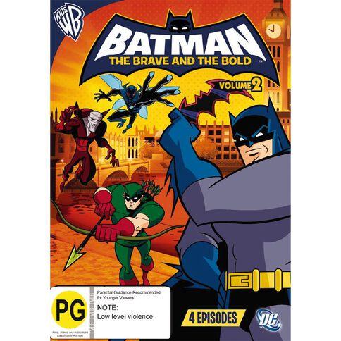 Batman Brave Bold Volume 2 DVD 1Disc