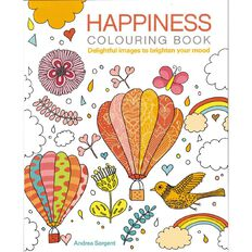 The Happiness Colouring Book
