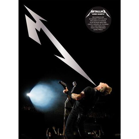 Metallica Quebec Magnetic DVD 2Disc