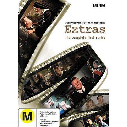 Extras Season 1 DVD 2Discs