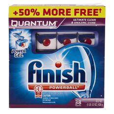 Finish Quantum Tabs 38 (25 + 13) Bonus Pack
