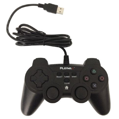Playmax Controller Wired Black PS3