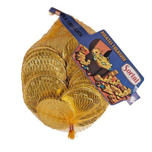 Sorini Gold Coins in Mesh Bag 80g