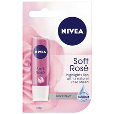 Nivea Lip Care Soft Rose 4.8g