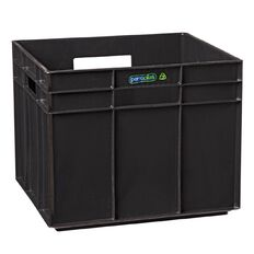 Perroplas One Plastic Storage Cube Black
