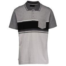 Match Top Striped Polo