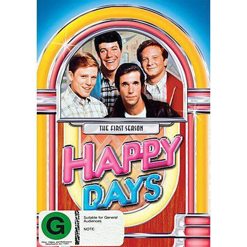 Happy Days Season 1 DVD 3Disc