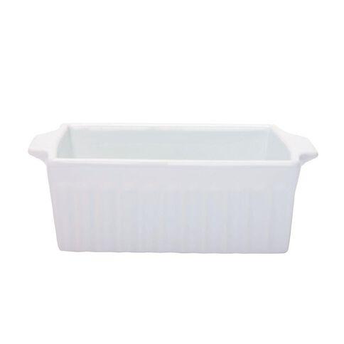 Necessities Brand Square Baker White 20cm x 17cm