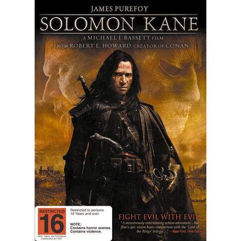 Solomon Kane DVD 1Disc