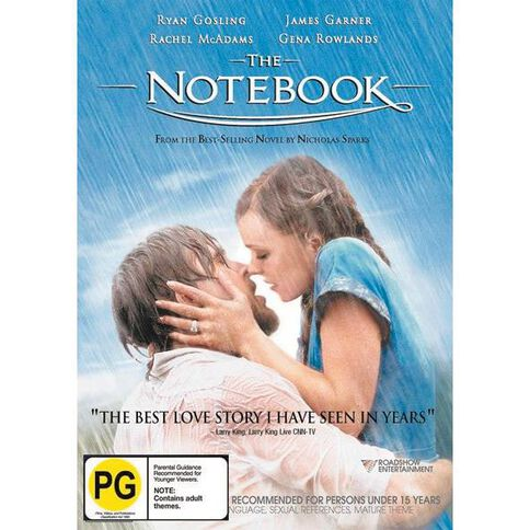 The Notebook DVD 1Disc